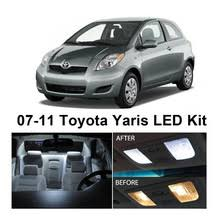 toyota yaris 07 popular toyota yaris interior led lights buy cheap toyota yaris
