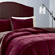 Eddie Bauer Bedroom Furniture by Eddie Bauer Premium Fleece Comforter Set Hayneedle