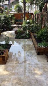 the 25 best low maintenance garden ideas on pinterest low travertine paving patio garden wandsworth london raised beds modern contemporary design low maintenance 3