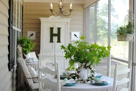 Shabby Chic Shutters by Antique Jewelry Armoire Porch Shabby Chic Style With Screened