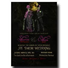 Halloween Wedding Card Wedding Invitations U2013 Wedding Invitations Bridal Invitations
