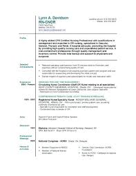 registered nurse resume cover letter examples of applications
