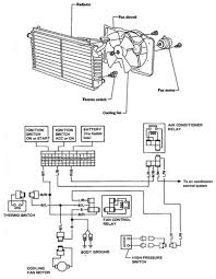 nissan stanza violet electric cooling fan schematic and circuit
