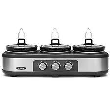bella triple slow cooker ebay