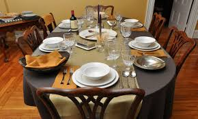 table setting dinner home decorating interior design bath