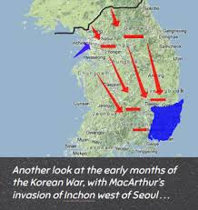 pusan on map general douglas macarthur the korean war part one mr