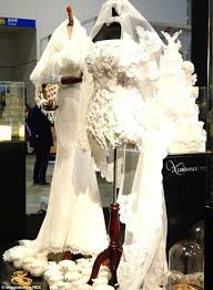 chagne wedding dress how 3d printed wedding dresses are changing the of bridal