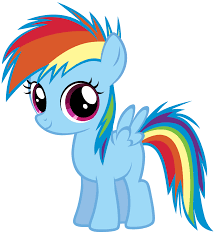 young rainbow dash by clipart panda free clipart images