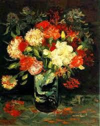 Vase With Red Poppies Van Gogh Vase W Red Poppies 1886 Art Pinterest Pintoras