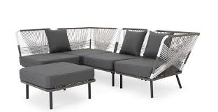 canapé d angle exterieur copa canapé d angle d extérieur gris made com
