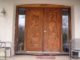 Exterior Wooden Doors With Glass by Front Doors Cool Wooden Front Door 44 Oak Front Door With Glass