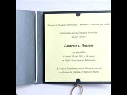 carte mariage texte texte faire part mariage original