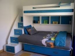 Double Bunk Beds With Stairs Foter - Single double bunk beds