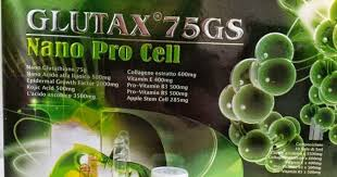 Glutax Nano Pro Cell authentic glutax 75gs iv glutathione skin whitening anti aging stem