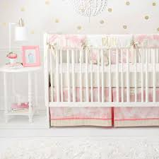 pink and gold crib bedding baby bedding pink crib bedding