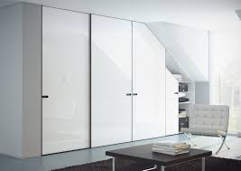 Wardrobes White Fitted Sliding Mirror Wardrobe Doors Bedroom Decorating