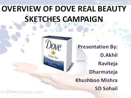 overview of dove real beauty skecthes campaign