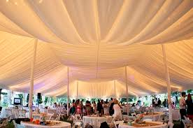 wedding tablecloth rentals wedding tent wedding tent rentals blue peak tents inc achor weddings