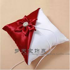 wedding pillows 2015 creative wedding supplies handmade flower wedding ring pillow