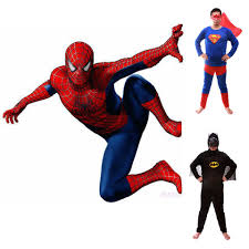 2015 new sale spiderman superman batman costumes spider