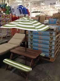 sand and water table costco costco patio umbrella at home and interior design ideas