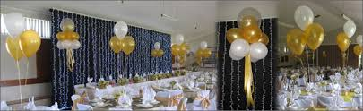 wedding decoration ideas balloon 50th wedding anniversary