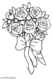 imagenes para colorear rosas dibujos para colorear de rosas 016