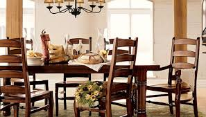table traditional dining room with antique chandelier and