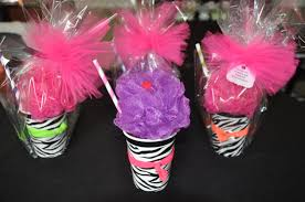 Spa Favors by Spa Favor Bath Puff Smoothie Filled With Nail