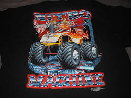 blue thunder monster truck videos image vintage monster truck shirt wcw 1