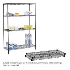 interior heavy duty metal shelving with wire shelving units and