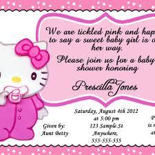 hello kitty baby shower invitations dancemomsinfo com