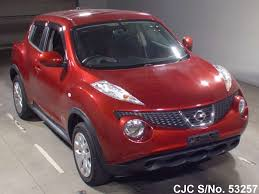 nissan juke for sale 2010 nissan juke red for sale stock no 53257 japanese used