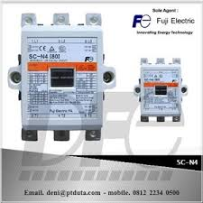 sell magnetic contactor sc n4 from indonesia by pt duta fuji