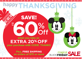 the disney store thanksgiving sale starts now