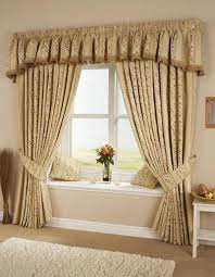 Nursery Valance Curtains Bedroom Cozy Window Seat Design With Brown Cushions And Curtain