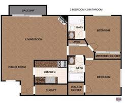 Parkview Floor Plan The Parkview 2 Apartments 16551 Victory Blvd Lake Balboa Ca