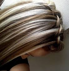 short brown hair with blonde highlights chocolate brown hair with chunky blonde highlights well done for