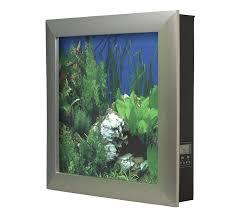 amazon com aquavista 500 wall mounted aquarium with whitestone amazon com aquavista 500 wall mounted aquarium with whitestone background black frame home decor wall art pet supplies