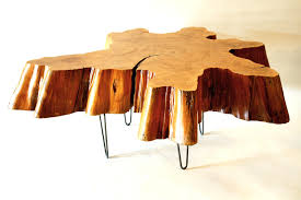 tree cross section table coffee table made from tree trunk home furniture natural
