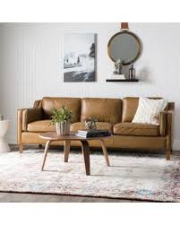 Oxford Leather Sofa Amazing Deal On Palm Canape 86 Inch Oxford Honey Leather
