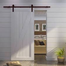 adding style to your home with interior barn door interior barn