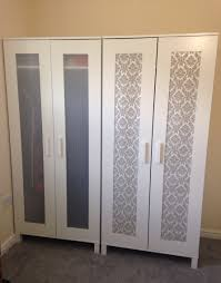 Panels For Ikea Furniture by Ikea Hack Aneboda Wardrobe 39 Wallpaper Sample Free