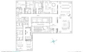 new floor plans 49 million penthouse in new york new york floor plans homes