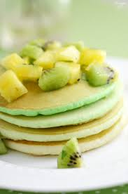 green ombre st patrick u0027s day pancakes with fruit salsa finding zest