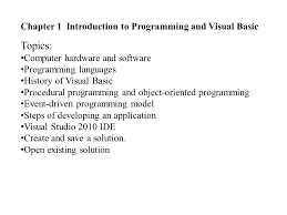 csci programming with visual basic instructor bindra shrestha
