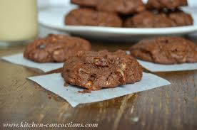 chocolate turtle cookies kitchen concoctions