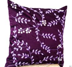 purple throw pillows lilac purple pillow covers set of two lumbar