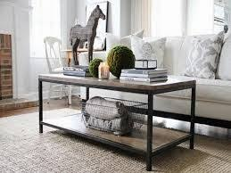 coffee table with baskets under little miss martha how to dress a coffee table inspiration