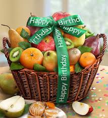 fruit gift baskets happy birthday premier orchard fruit gift basket from 1 800
